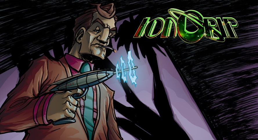 #iongrip #johngajowski #apweber # comicbook