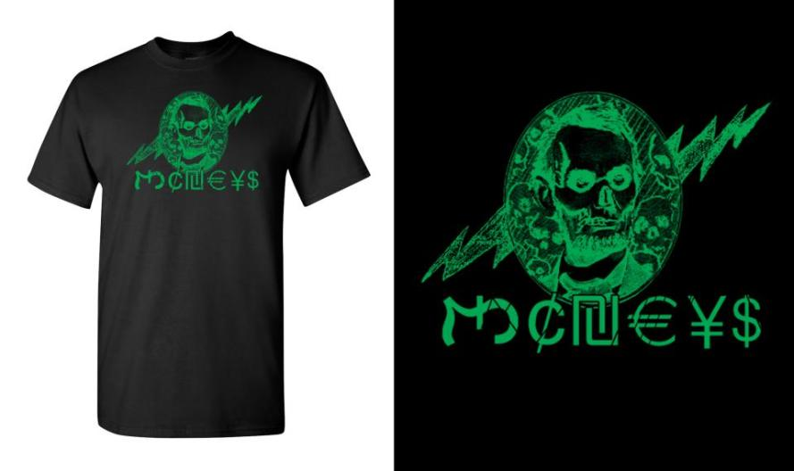 #john gajowski, #johngajowski, #T-shirts, #design, #T-shirt, #moneys, #monies, #grindcore, #gind core,