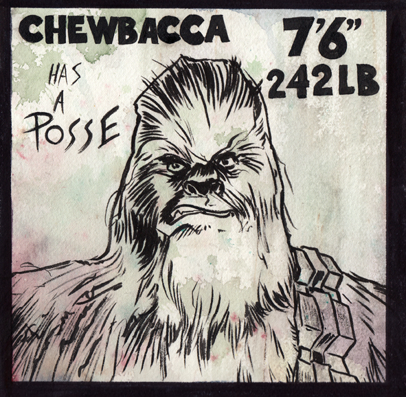 #big100, #johngajowski, #starwars, #chewbaca, # comics, #comicbook