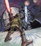 #big100, #johngajowski, #starwars, #chewbaca, # comics, #comicbook