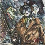 john gajowski, johngajowski, wonder woman, dc, dc comics, 88 strong, watchmen, rorschach
