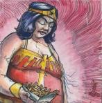 john gajowski, johngajowski, wonder woman, dc, dc comics, 88 strong