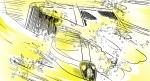 #John Gajowski, #johngajowski, #lamborghini, #story boards, cars, #countach, #miura, #centenario